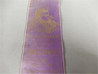 1901 QUEEN VICTORIA FUNERAL MEMORIAL RIBBON