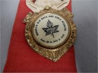 RARE1910 CENTENARY TREASURER RIBBON