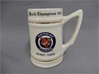1984 DETROIT RED WING WORLD CHAMPIONSHIP TANKARD