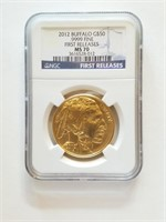 2012 Buffalo $50.00 Gold Piece