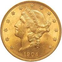 $20 1904 PCGS MS63 CAC OGH