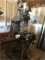 3 Phase Over Head Milling Machine