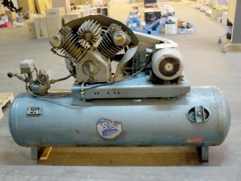 Populære Kompressor, Stenhøj 300 liter. MOMSFRI | Campen Auktioner A/S EZ-42
