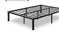 ZINUS METAL PLATFORM BED - 54X75X14 IN