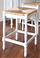 """29"""" COUNTER STOOL, WHITE (NOT ASSEMBLED)"""