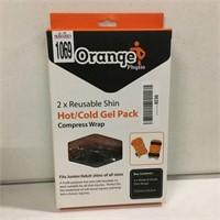 ORANGE HOT/COLD GEL PACK