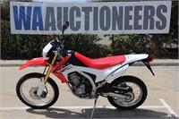 2014 Honda CRF250L Motorcycle