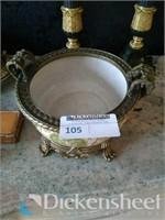 Beautiful two piece porcelain