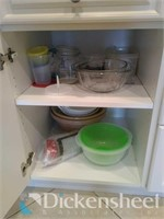Lot of bakeware, cheese