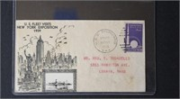Worldwide Stamps Worlds Fair 1939 collection