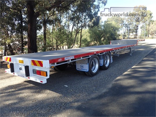 2001 Maxitrans 45FT Drop Deck Semi - Truckworld.com.au - Trailers for Sale