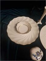 Lenox gold plated trim porcelain