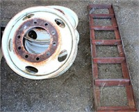 Semi Tk Wheels, Trailer Ramp
