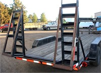 2004 Falcon Flatbed Trailer (view 6)