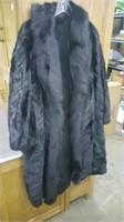 "Beautiful full-length mink coat.  Measures 50"""