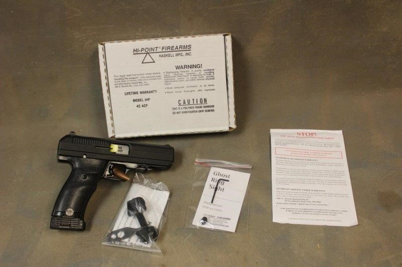Hi-Point / Haskell MFG JHP X4353351 Pistol  45 | Smith Sales LLC