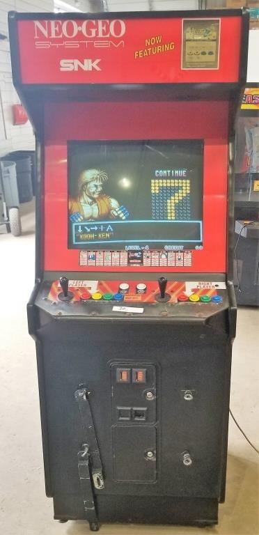 Art Of Fighting Arcade Machine Pa Auction Center