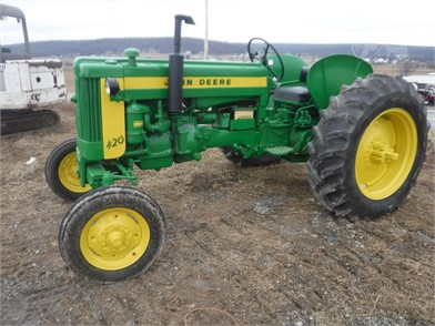 1958 JOHN DEERE 420 at TractorHouse.com