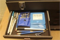 Broaches, Arbors & Assorted Tooling w/Tool Box