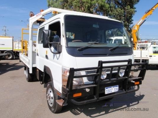 2010 Fuso Canter FE84 Crew Trucks for Sale