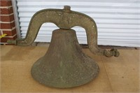 """Farm Bell 16 1/2"""" Early 1800 to Mid 1800's; Never"""