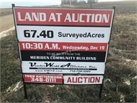 67.40 surveyed acres at Auction