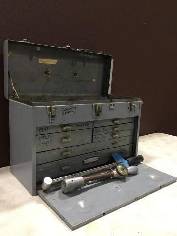 2 Torque Wrenches, CodeKey, & Craftsman Tool Box | Triple