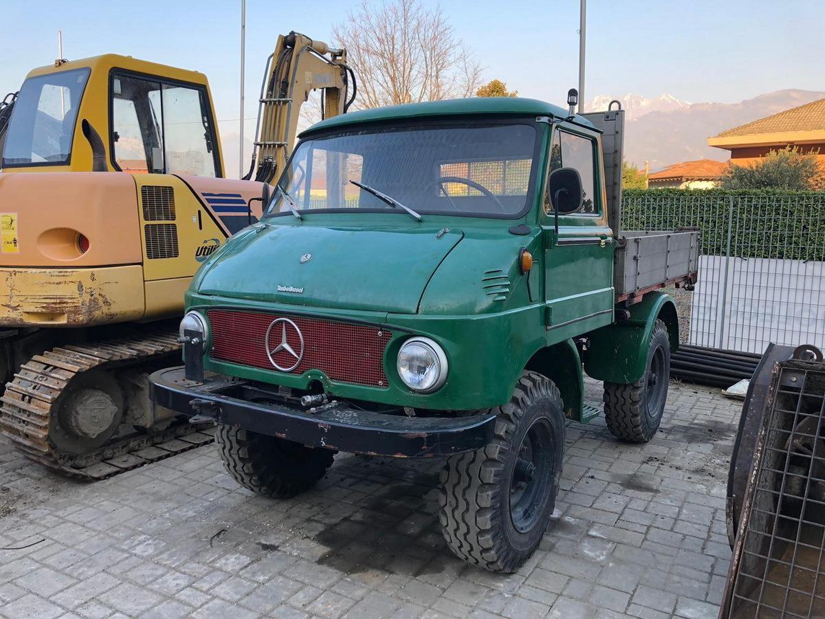 Mercedes-Benz UNIMOG 411 #Used