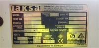 Aksa AJD 70 Diesel Generator 58kW 230/400V