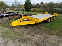 Tractor, Loader, Trailer & Snow Pusher