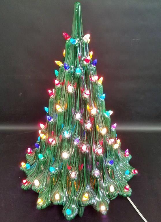 Mcm Atlantic Mold Ceramic Christmas Tree 345 Auction