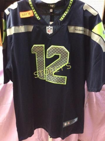 buy online ffac9 6347c Seattle Seahawks NFL #12 Fan Jersey | STOREY'S