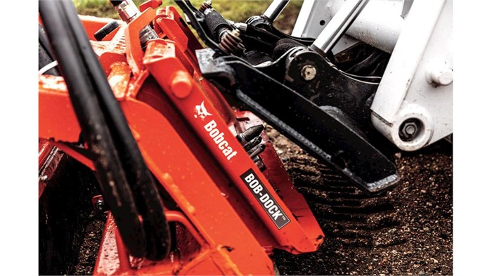 Bobcat Bob-Dock: Change Hydraulic Attachments From Inside