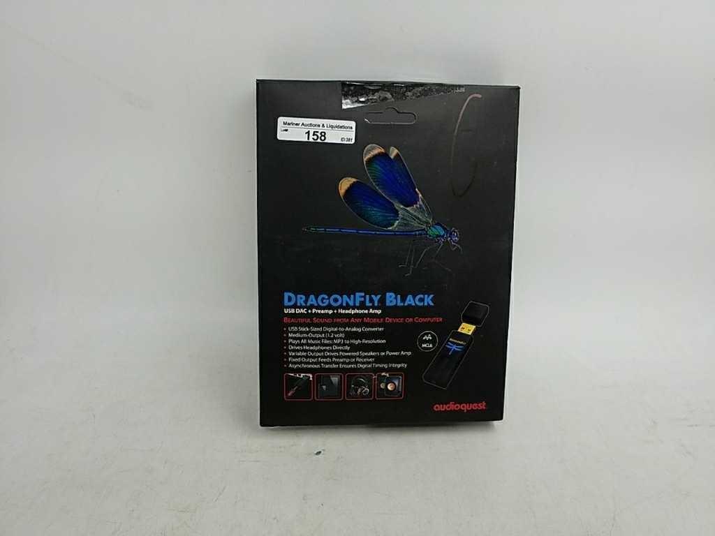 Audioquest Dragonfly Black USB DAC + Preamp + | Mariner