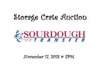 Storage Crate Auction