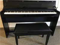Mid Century Teak, Vintage, Roland Digital Piano - Belwood,ON