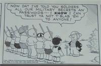 Ernie Bushmiller. Nancy Original Daily. 1940.