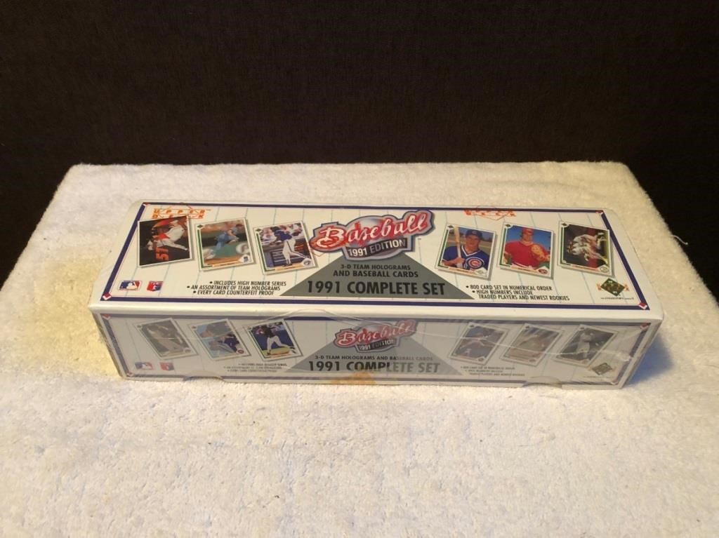 1991 Upper Deck Mlb Baseball Card Set Final Lap Thrift Shop
