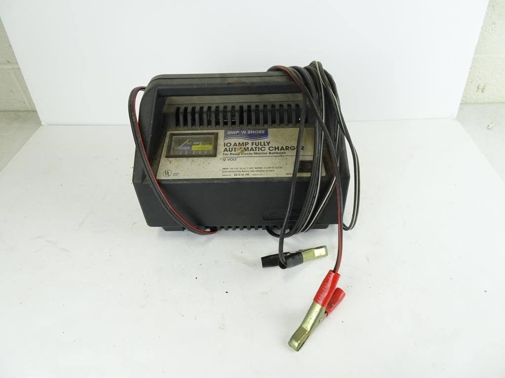 Deep Cycle Marine Battery Charger >> 10 Amp Battery Charger For Deep Cycle Marine Dugan Inc