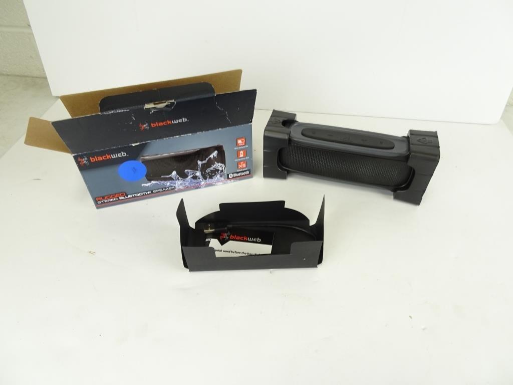 Blackweb Rugged Stereo Bluetooth Speaker - MSRP   Dugan, INC