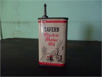 Tavern Motor Oil can