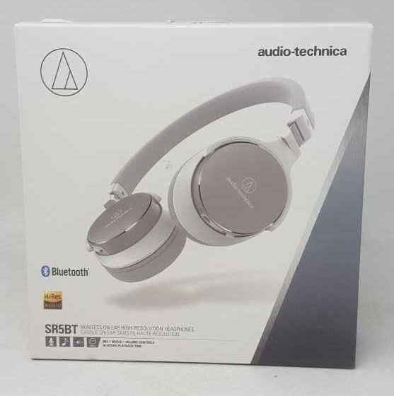 1158a9f9571 Audio-Technica ATH-SR5BT Bluetooth Wireless On-Ea | Mariner Auctions ...