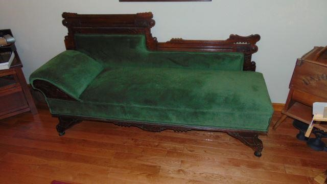 Incredible Victorian Fainting Couch Indiana Real Estate Auctions Unemploymentrelief Wooden Chair Designs For Living Room Unemploymentrelieforg
