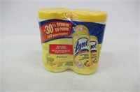 Lysol Disinfecting Wipes - 2 Pack