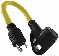 Camp Power 20 Amp To 30 Amp Ergo Grip Adapter