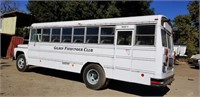 ON-LINE AUCTION - School / Wine Tasting Propane NO SMOG Bus