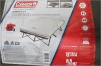 Coleman Queen Airbed Cot, Beige