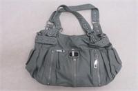 Scarleton 3 Front Zipper Washed Shoulder Bag, Mint