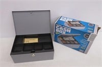 MMF Steelmaster Cash Box with Security Lock with