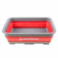 Wakeman 10L Collapsible Portable Camping Wash
